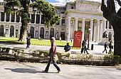 Museo del Prado visto dall'autobus n. 27