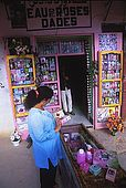 Rose cosmetic shop, M'Gouna, Dades Valley, Morocco