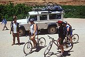 Mountain biking in the Dades Valley, Morocco