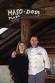 Jessica and Valerio at Maso Doss, Pinzolo, Trentino, Italy. Tel 0465 502758