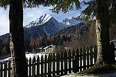 Landscape seen from  Maso Doss, Pinzolo, Trentino, Italy. Tel 0465 502758