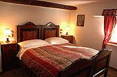 Bedroom, Maso Doss, Pinzolo, Trentino, Italy. Tel 0465 502758