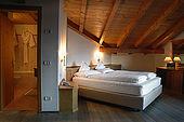 Chalet Hermitage Hotel, Madonna di Campiglio, Trentino, Italy. Tel 0465 441558