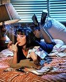 Uma Thurman / Pulp Fiction 1994 directed by Quentin Tarantino