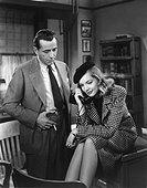 Humphrey Bogart, Lauren Bacall / The Big Sleep 1946 directed by Howard Hawks
