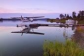 Finlande, Laponie, Scandinavie, Inari - Summer, Air Taxi on the idyllic Lake Inari, Lemmenjoki National Park