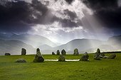Castlerigg Stone Circle; Kendal, Cumbria, England