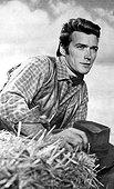 Rawhide [us Tv Series 1959 - 1965] Clint Eastwood As Rowdy Yates Rawhide