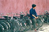 Chine, Canton, bicyclettes