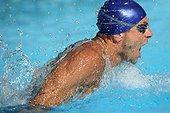Male Swimmer Swimming Butterfly
