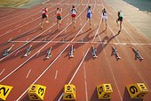 Runners Starting Off