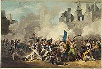 Roger-Viollet | 12776 | Combats de l'Hôtel de Ville, le 28 juillet 1830 | © Musée Carnavalet / Roger-Viollet