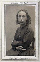 Roger-Viollet | 54646 | Album of anti-Communard photographs. Louise Michel (1830-1905), chief of arsonists | © Ernest-Charles Appert / Musée Carnavalet / Roger-Viollet