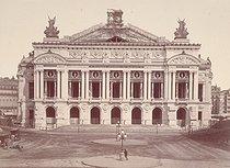 Roger-Viollet | 63385 | THE OPERA UNDER CONSTRUCTION | © Musée Carnavalet / Roger-Viollet
