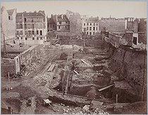 Roger-Viollet | 66839 | The arenas of Lutetia. Paris (Vth arrondissement), on August 25, 1870. Paris, Musée Carnavalet. | © Musée Carnavalet / Roger-Viollet