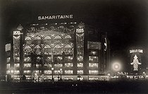 Roger-Viollet | 70338 | The Samaritaine by night, 1928. Paris, musée Carnavalet. | © Musée Carnavalet / Roger-Viollet