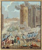 Roger-Viollet | 88375 | Storming of the Bastille, on July 14, 1789 | © Musée Carnavalet / Roger-Viollet