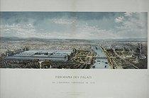 Roger-Viollet | 92895 | Fougère (XIXème siècle).  Panorama des Palais de l'Exposition Universelle de 1878 . Paris, musée Carnavalet. | © Musée Carnavalet / Roger-Viollet
