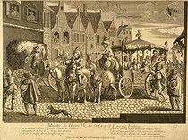 Roger-Viollet | 98162 | Murder of Henry IV.  On assassine Henri ! Quelle source de larmes ! Echappé tant de fois à la fureur des armes . Print. Paris, musée Carnavalet. | © Musée Carnavalet / Roger-Viollet