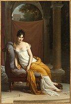 Roger-Viollet | 100341 | Portrait of Juliette Récamier | © Musée Carnavalet / Roger-Viollet