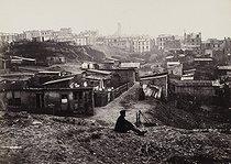 Roger-Viollet   108706   Rue Champlain, Paris (XXth arrondissement), 1872-1879. Photograph by Charles Marville (1813-1879). Paris, musée Carnavalet.   © Charles Marville / Musée Carnavalet / Roger-Viollet