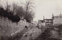 Roger-Viollet   119308   Avenue du Commandeur, view taken from the rue d'Alésia. Paris (XIVth arrondissement), 1872-1882. Photograph by Charles Marville (1813-1879). Paris, musée Carnavalet.   © Charles Marville / Musée Carnavalet / Roger-Viollet