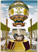 Roger-Viollet | 178893 | PARIS - MONTGOLFIERE | © Roger-Viollet / Roger-Viollet