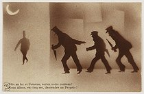 Roger-Viollet | 187077 | Postcard about the Apaches subculture. | © BHVP / Roger-Viollet