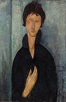 Roger-Viollet | 193625 | Woman with blue eyes | © Musée d'Art Moderne / Roger-Viollet