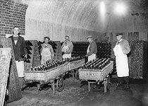 Roger-Viollet | 195237 | Cavistes des vins de Champagne  Moët et Chandon , Epernay (Marne). | © LAPI / Roger-Viollet