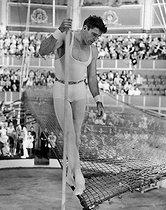 Roger-Viollet | 195765 | Burt Lancaster (1913-1994), American actor, director and producer. | © Jack Nisberg / Roger-Viollet