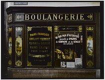 Roger-Viollet | 196662 | Bakery, 45 rue Popincourt, at the corner of the rue du Chemin Vert. Paris (XIth arrondissement), 1981. Photograph by Felipe Ferré (born in 1934). Paris, musée Carnavalet. | © Felipe Ferré / Musée Carnavalet / Roger-Viollet