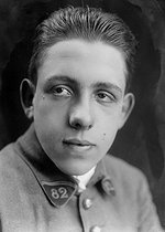 Roger-Viollet | 221298 | Francis Poulenc (1899-1963), French composer, during his military service (January 1918- January 1921). | © Pierre Choumoff / Roger-Viollet