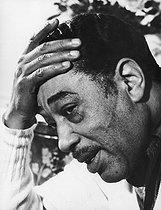 Roger-Viollet   231799   Duke Ellington (1899-1974), American pianist, conductor and jazz composer.   © Jean-Régis Roustan / Roger-Viollet