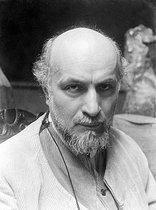 Roger-Viollet | 240999 | Antoine Bourdelle (1861-1929), French sculptor. | © Pierre Choumoff / Roger-Viollet