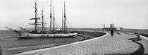 Roger-Viollet | 243089 | The pier and the fort Vauban. Port-de-Bouc (France), circa 1900. | © Neurdein frères / Roger-Viollet