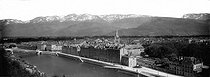 Roger-Viollet | 246379 | Grenoble (Isère). Panorama. Around 1900. | © Léon & Lévy / Roger-Viollet