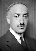 Roger-Viollet | 261025 | André Maurois (1885-1967), French writer. France, around 1935. | © Henri Martinie / Roger-Viollet