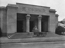 Roger-Viollet | 273406 | Colonial exhibition. Building of the Suez Canal Company. Paris, 1931. | © Pierre Jahan / Roger-Viollet