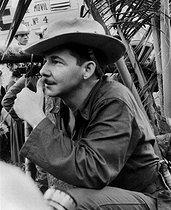 Roger-Viollet | 297496 | Raúl Castro (born in 1931), Cuban politician. Cuba. | © Gilberto Ante / BFC / Roger-Viollet