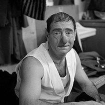 Roger-Viollet | 305066 | Achille Zavatta (1915-1993), French clown and director of circus. Paris, Olympia, December 1957. | © Boris Lipnitzki / Roger-Viollet