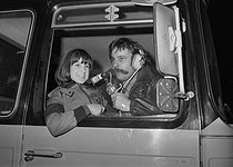 Roger-Viollet | 307779 | Max Meynier (1938-2006), radio presenter of the emission  Les routiers sont sympas , on RTL. | © Jacques Cuinières / Roger-Viollet