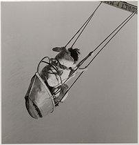 Roger-Viollet | 312631 | Two young women in flower print dresses, sitting in a fairground attraction, Foire du Trône fun fair. Paris (XIIth arrondissement). 1933. Photograph by Roger Schall (1904-1995). Paris, musée Carnavalet. | © Roger Schall / Musée Carnavalet / Roger-Viollet