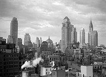 Roger-Viollet | 328173 | Panorama of Manhattan. New York (United States), circa 1930-1935. | © Laure Albin Guillot / Roger-Viollet