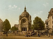 Roger-Viollet | 334411 | The Saint-Augustin church (architect : Victor Baltard, 1860-1868). Paris (VIIIth arrondissement), circa 1900. | © Roger-Viollet / Roger-Viollet