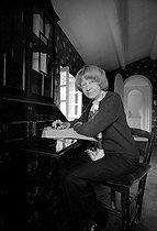 Roger-Viollet   336116   Violette Leduc (1907-1972), French woman of letters, 1969. Photograph by Georges Kelaïditès (1932-2015).   © Georges Kelaïditès / Roger-Viollet
