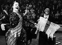 Roger-Viollet | 336222 | Les clowns Mais et Grock (de gauche à droite). | © Roger-Viollet / Roger-Viollet