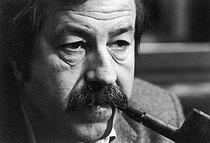 Roger-Viollet   338926   Günter Grass (1927-2015), German writer. January 14, 1981.   © Jean-Régis Roustan / Roger-Viollet