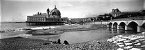 Roger-Viollet | 352095 | The former casino on the pier. View from the beach. Nice (France), circa 1900. | © Léon & Lévy / Roger-Viollet