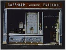 Roger-Viollet | 370026 | Café - Bar - Grocery, 10 rue de l'Amiral Roussin. Paris (XVth arrondissement), 1981. Photograph by Felipe Ferré (born in 1934). Paris, musée Carnavalet. | © Felipe Ferré / Musée Carnavalet / Roger-Viollet